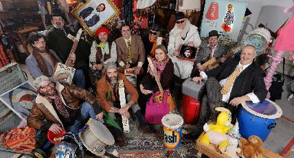 #6 Music out of waste: at LM17 the Gaudats Junk Band